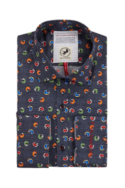 Chemise manches longues A FISH NAMED FRED 83035 Gris