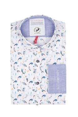 Chemise manches longues A FISH NAMED FRED 9101038 Blanc