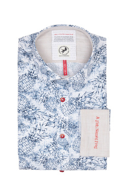 Chemise manches longues A FISH NAMED FRED 9101037 Blanc