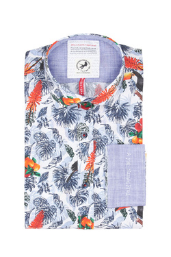 Chemise manches longues A FISH NAMED FRED 9101056 Blanc