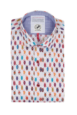 Chemise manches courtes A FISH NAMED FRED 9103097 Blanc