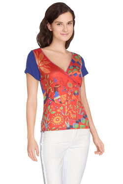 Tee-shirt ANATOPIK 16PDOLLY Rouge