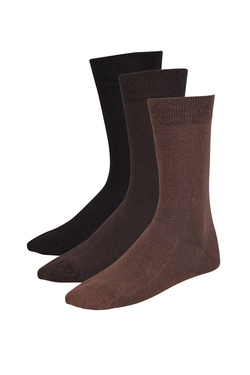 Chaussettes AU MASCULIN KE LOT3UNI Marron
