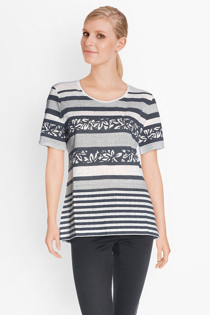 Tee-shirt en jersey façonné BETTY BARCLAY