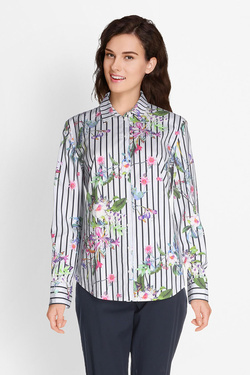 Chemise manches longues BETTY BARCLAY 6029 2584 Ecru