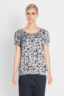 Tee-shirt BETTY BARCLAY 4167 0645 Bleu marine