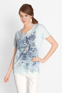 Tee-shirt BETTY BARCLAY 4735 0785 Vert d eau