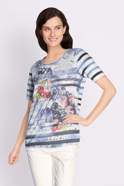 Tee-shirt BETTY BARCLAY 4734 0784 Bleu