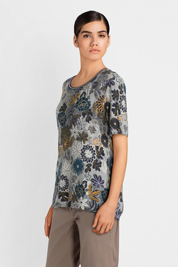 Tee-shirt BETTY BARCLAY 4869 0567 Gris