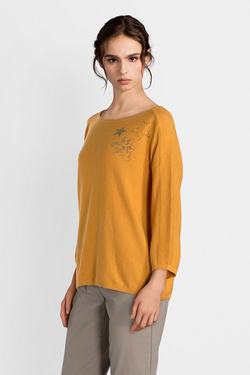 Pull BETTY BARCLAY 3882 2954 Jaune