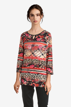 Tee-shirt BETTY BARCLAY 4712 0568 Rouge