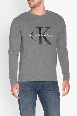 CALVIN KLEIN - Sweat-shirtJ30J302252Gris