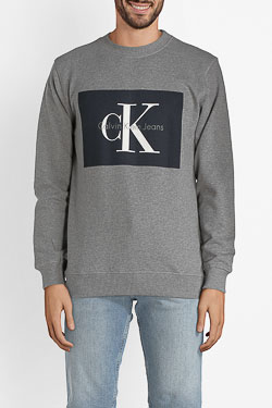 Sweat-shirt CALVIN KLEIN 306988 Gris