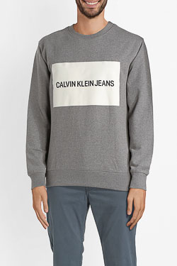 Sweat-shirt CALVIN KLEIN J30J307744 Gris