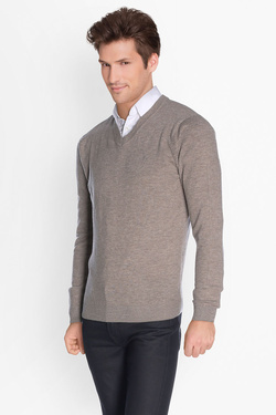 Pull CAMBRIDGE LEGEND cg oscar v Beige foncé