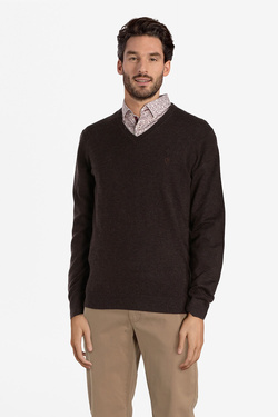 Pull CAMBRIDGE LEGEND 52CG1PU001 Marron