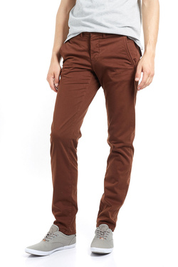 Pantalon CAMBRIDGE LEGEND 52CG1PS000 Marron foncé