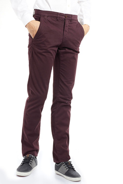 Pantalon CAMBRIDGE LEGEND 52CG1PS000 Rouge bordeaux