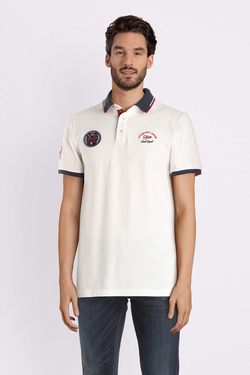 Polo CAMBRIDGE LEGEND 53CG1PO005 Blanc