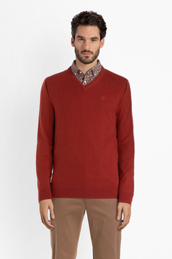 Pull CAMBRIDGE LEGEND 54CG1PU001 Rouge