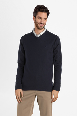 Pull CAMBRIDGE LEGEND 54CG1PU001 Bleu marine