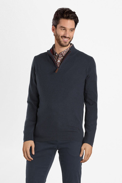 Pull CAMBRIDGE LEGEND 54CG1PU200 Bleu marine