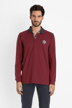 Polo CAMBRIDGE LEGEND 54CG1PO100 Rouge bordeaux