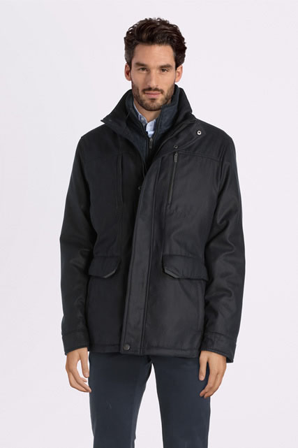 Parka matelassée plastron amovible CAMBRIDGE LEGEND