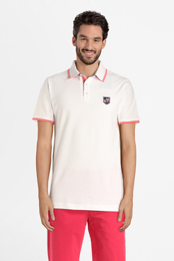 Polo CAMBRIDGE LEGEND 55CG1PO002 Blanc