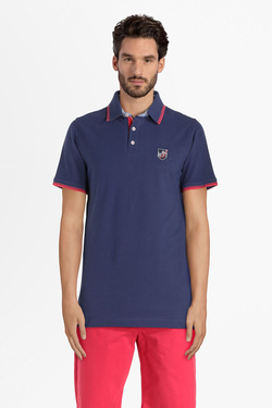 Polo CAMBRIDGE LEGEND 55CG1PO002 Bleu foncé