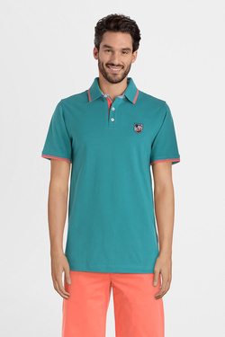 Polo CAMBRIDGE LEGEND 55CG1PO002 Vert d eau