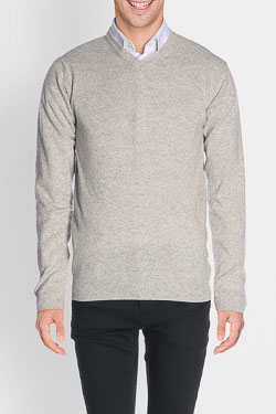 Pull CAMBRIDGE LEGEND 46CG1PU000 Gris clair