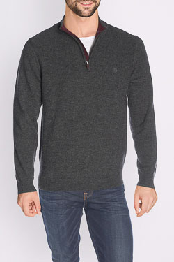 Pull CAMBRIDGE LEGEND 48CG1PU001 Gris foncé