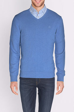 CAMBRIDGE - Pull49CG1PU000Bleu