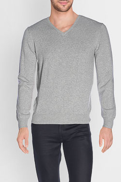 CAMBRIDGE - Pull49CG1PU000Gris