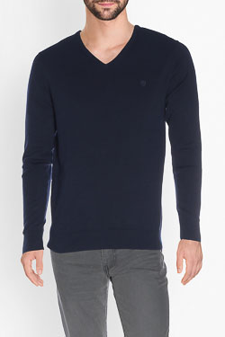 CAMBRIDGE - Pull49CG1PU000Bleu marine