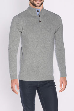 CAMBRIDGE - Pull49CG1PU100Gris