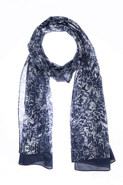 CAMBRIDGE - Foulard49CG1AC101Bleu