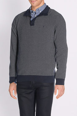 Pull CAMBRIDGE LEGEND 51CG1PU101 Bleu marine