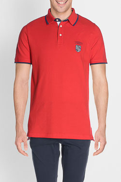 Polo CAMBRIDGE 51CG1PO002 Rouge
