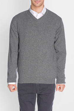 CAMBRIDGE - Pull46CG1PU000Gris