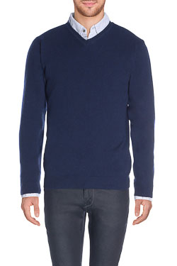 CAMBRIDGE - Pull46CG1PU000Bleu marine