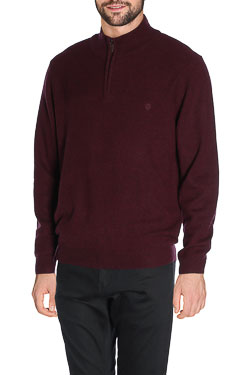 CAMBRIDGE - Pull48CG1PU001Rouge bordeaux
