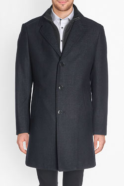 CAMBRIDGE - Manteau48CG1MA800Bleu marine