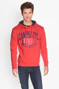 Sweat-shirt CAMPS UNITED 50CP1SW389 Rouge