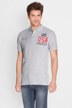Polo CAMPS UNITED 50CP1PO394 Gris