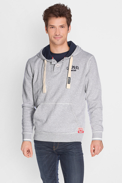 Sweat-shirt CAMPS UNITED 50CP1SW074 Gris