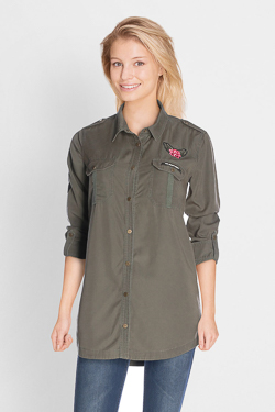 Chemise manches longues CAMPS UNITED 50CP2CS100 Vert