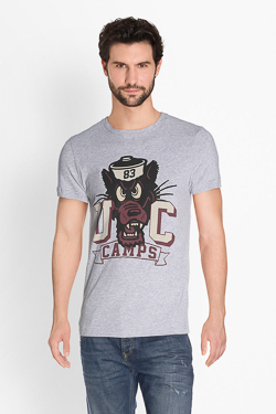 Tee-shirt CAMPS UNITED 51CP1TS113 Gris