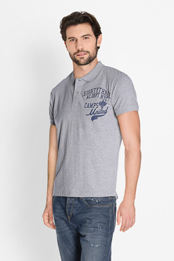 Polo CAMPS UNITED 51CP1PO102 Gris